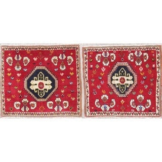 Copper Grove Tjaereborg Pack of 2 Hand-knotted Wool Area Rugs - 1'11 x 2'2