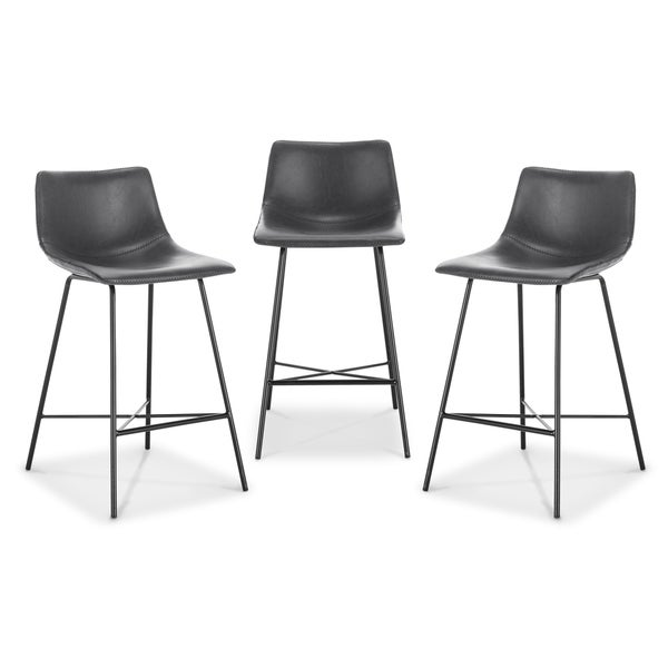Poly and Bark Paxton 24-inch Counter Stool (Set of 3). Opens flyout.