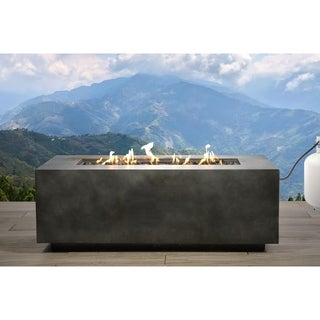 Concrete Propane Gas Fire Pit Table