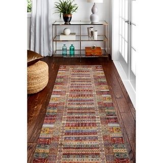 Machine Made Zadock Multi Rug