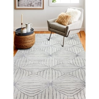 Hand Tufted Myra Grey Rug
