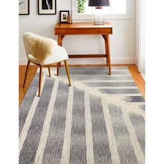 Hand Tufted Moses Iv/Grey Rug