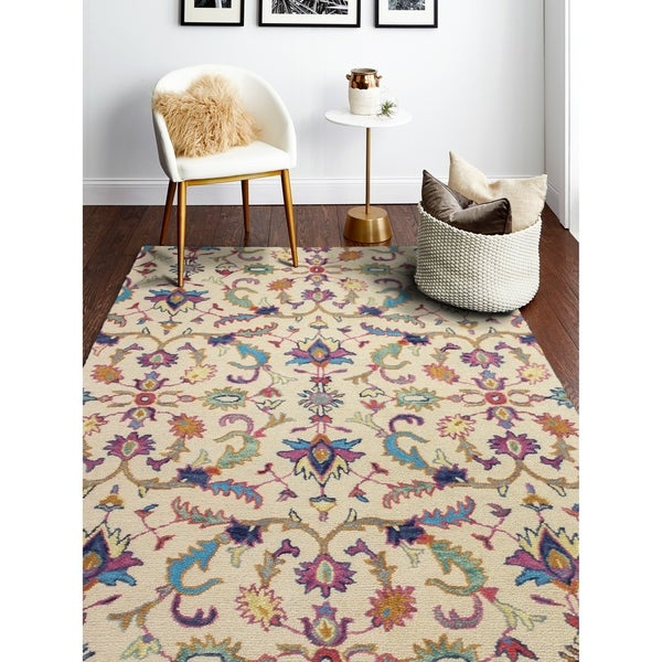 Hand Tufted Danbury Beige Rug