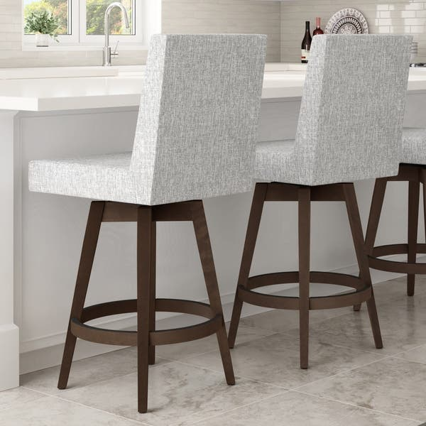 Tremendous Shop Carson Carrington Comber Swivel Stool With Wood Base Bralicious Painted Fabric Chair Ideas Braliciousco