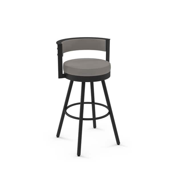 Amisco Eller Swivel Counter And Bar Stool Overstock 27598187