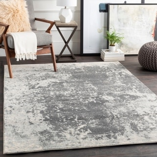 """Anah Subtle Abstract Area Rug - 7'10"""" Round"""