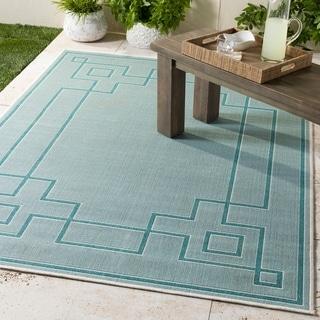"""Gaetana Indoor/ Outdoor Area Rug - 7'3"""" Square"""