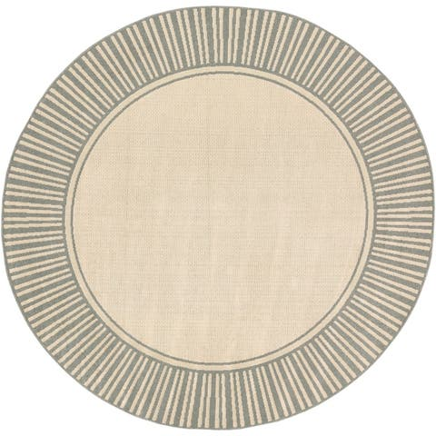 Felice Border Indoor/ Outdoor Area Rug
