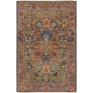 Hand-Knotted Celaena Wool Area Rug - 10' x 14'