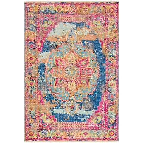 Hand-Knotted Abdera Wool Area Rug - 8' x 11'