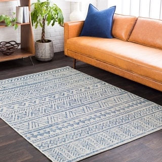 Link to Powlett Vintage Southwestern Indoor/ Outdoor Area Rug Similar Items in Casual Rugs