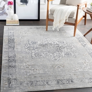 "Moriko Updated Traditional Area Rug - 2'7"" x 7'7"" Runner"