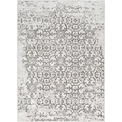 Tours Overdyed Damask Area Rug