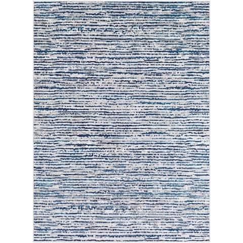 Albi Contemporary Stripes Area Rug