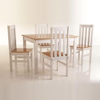 Ludlow Slat Back Wood Dining Room Set