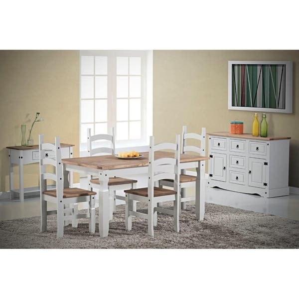 Shop Corona 2 Door/ 5 Drawer Wood Dining Room Buffet - Free ...
