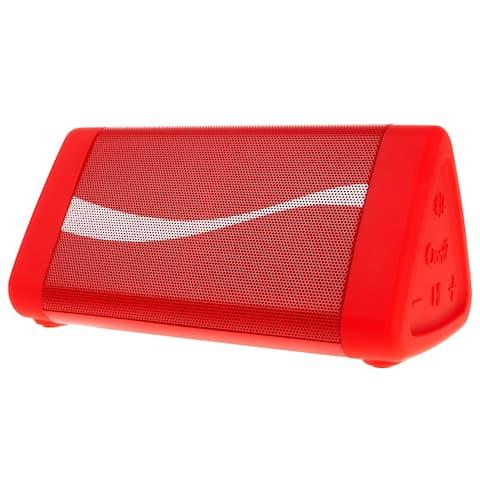 OontZ Angle 3 Coca-Cola® Edition- IPX5 Splashproof Bluetooth Speaker with Volume Boost, 100' Range Bluetooth 4.2
