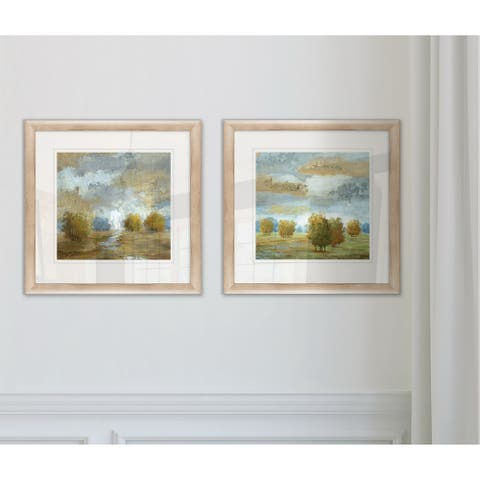 Wexford Home 'Lush Meadow' Framed Set