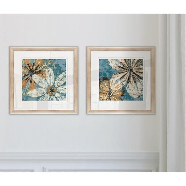 Shop Wexford Home 'Berkeley's Flowers I' Framed Art Set