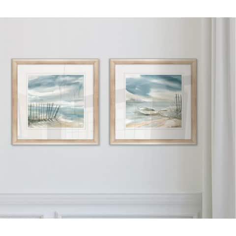 Wexford Home 'Subtle Mist II' Framed Art Set