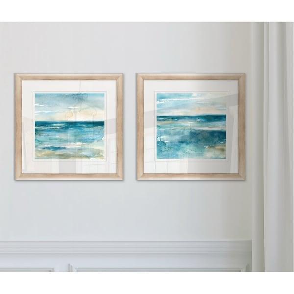 Wexford Home 'Wash Over Me I' 2-piece Framed Giclee Art