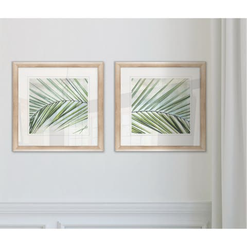 Wexford Home 'Palm View I' Framed Set