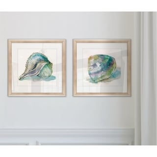 Link to Wexford Home 'Malecon Shell I' Framed Prints (Set of 2) Similar Items in Matching Sets
