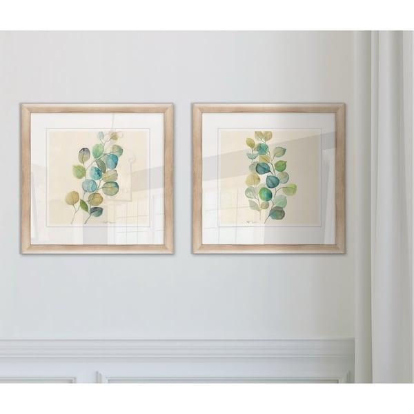 Wexford Home 'Eucalyptus I' Framed 2-piece Art Set