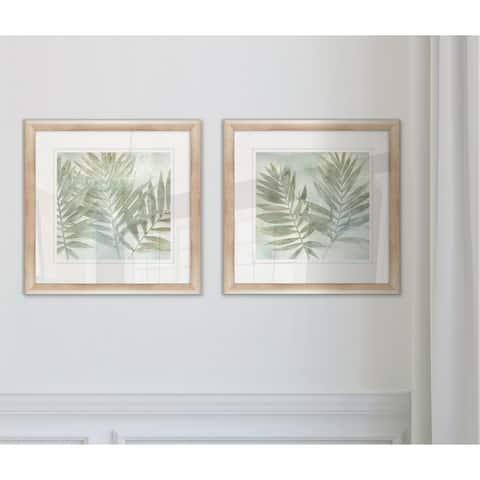 Wexford Home 'Soft Leaves I' Framed Set