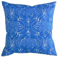 The Pillow Collection Quilla Damask Decorative Throw Pillow