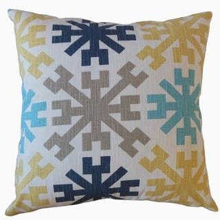 The Pillow Collection Obert Geometric Decorative Throw Pillow