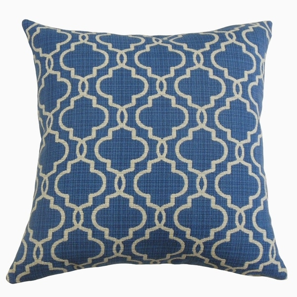 The Pillow Collection Rauf Geometric Decorative Throw Pillow