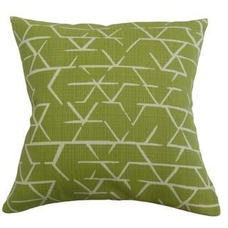 The Pillow Collection Umatilla Geometric Decorative Throw Pillow