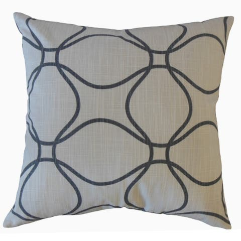 The Pillow Collection Lalage Geometric Decorative Throw Pillow