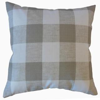 The Pillow Collection Jaspen Plaid Decorative Throw Pillow