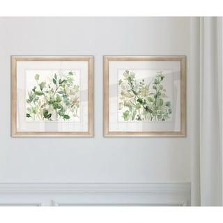 Wexford Home'Sage Garden I' Framed Set