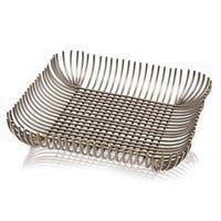 Modern Day Accents Rejas Bars Square Tray