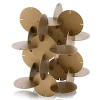 Modern Day Accents Disco Attached Discs Sculpture