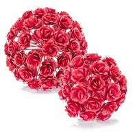 Modern Day Accents Esfera Rosa Rose Sphere