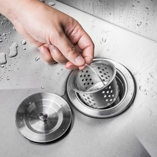 "AKDY Multi Layer Round 3.5"" Lift and Turn Kitchen Sink Drain"