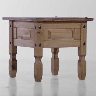 Copper Grove Versailles Brown Wood Accent Table