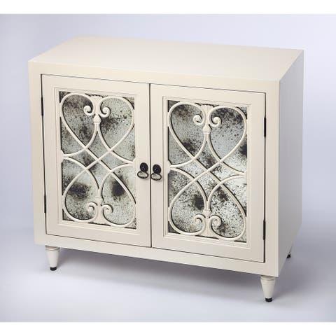 Handmade Finney White Dining Cabinet (Indonesia)