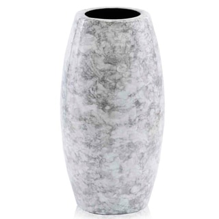 Modern Day Accents Barril Faux Marble Vase