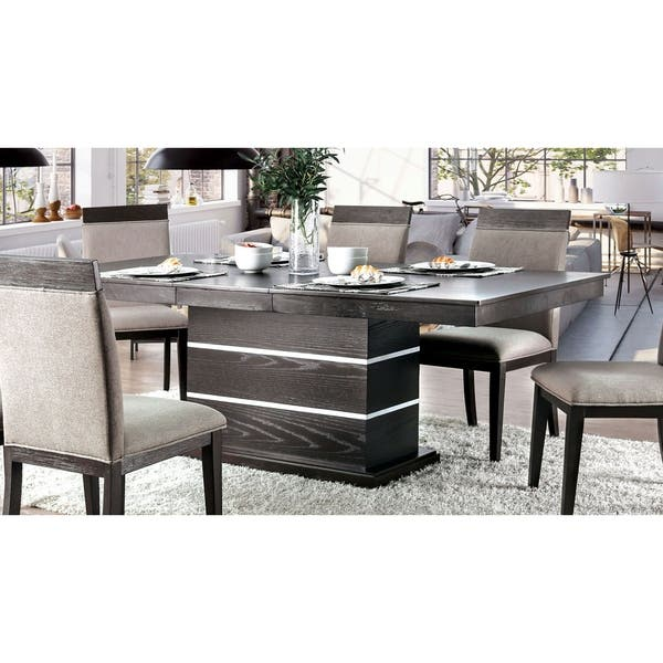 Strick Bolton Edmonia Espresso 84 Inch Dining Table