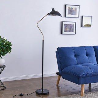 Strick & Bolton Kerr Contemporary Metal Floor Lamp
