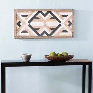 The Curated Nomad Excelsior Decorative Brown Wood Wall Panel