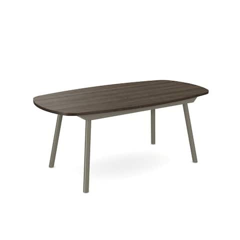 Amisco Gibson Table with Ash Wood Veneer Top