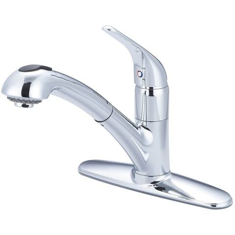 Legacy Single Handle Pull-Out Kitchen Faucet