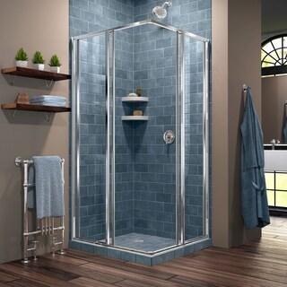 DreamLine Cornerview 40 1/2 in. D x 40 1/2 in. W x 72 in. H Framed Sliding Shower Enclosure