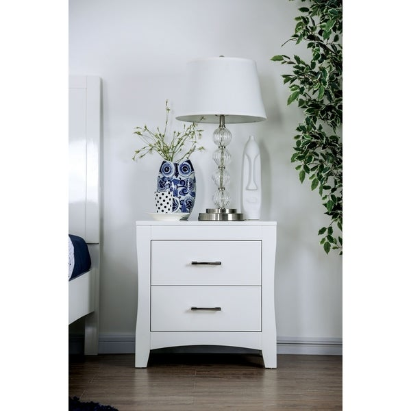 Copper Grove Zugdidi White 2-drawer Nightstand